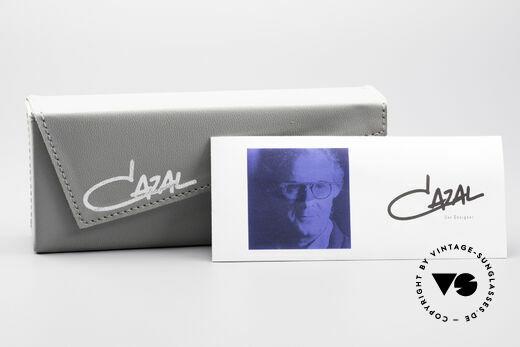 Cazal 648 Original Cari Zalloni Brille, KEINE Retromode; ein über 25 Jahre altes Unikat!, Passend für Herren und Damen