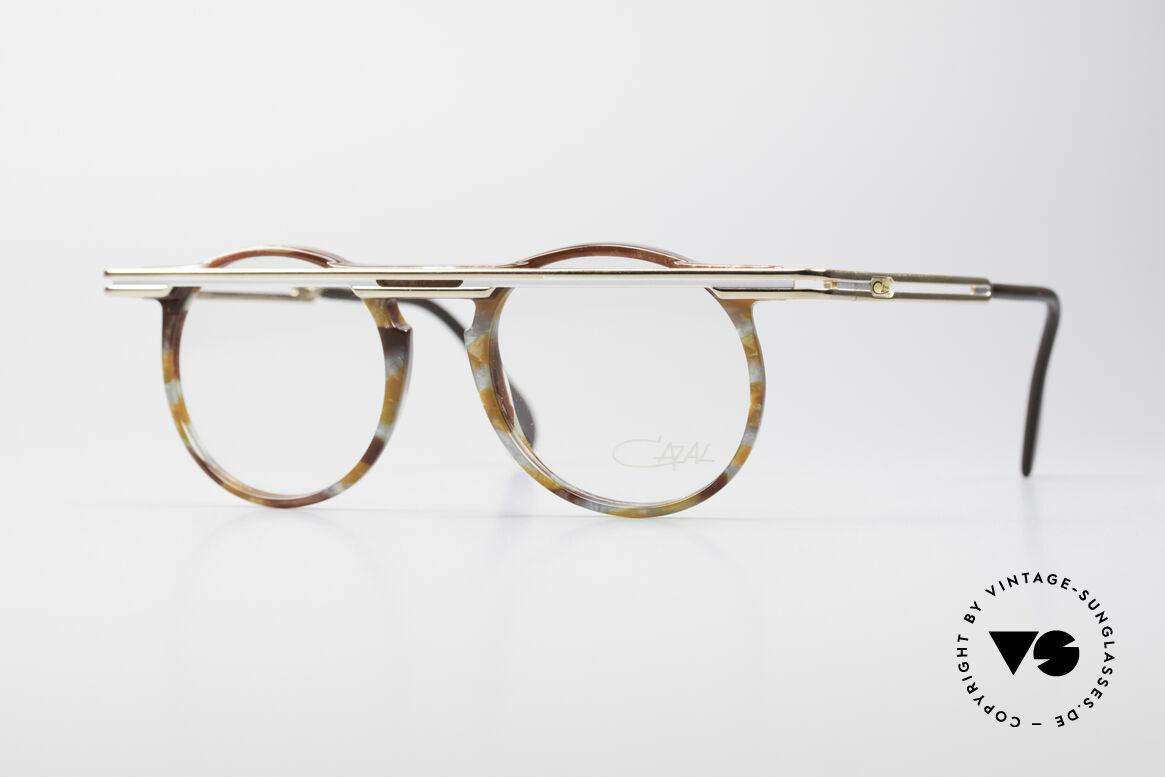 Cazal 648 90er Cari Zalloni Vintage Brille, außergerwöhnliche CAZAL vintage Brille von 1990, Passend für Herren und Damen