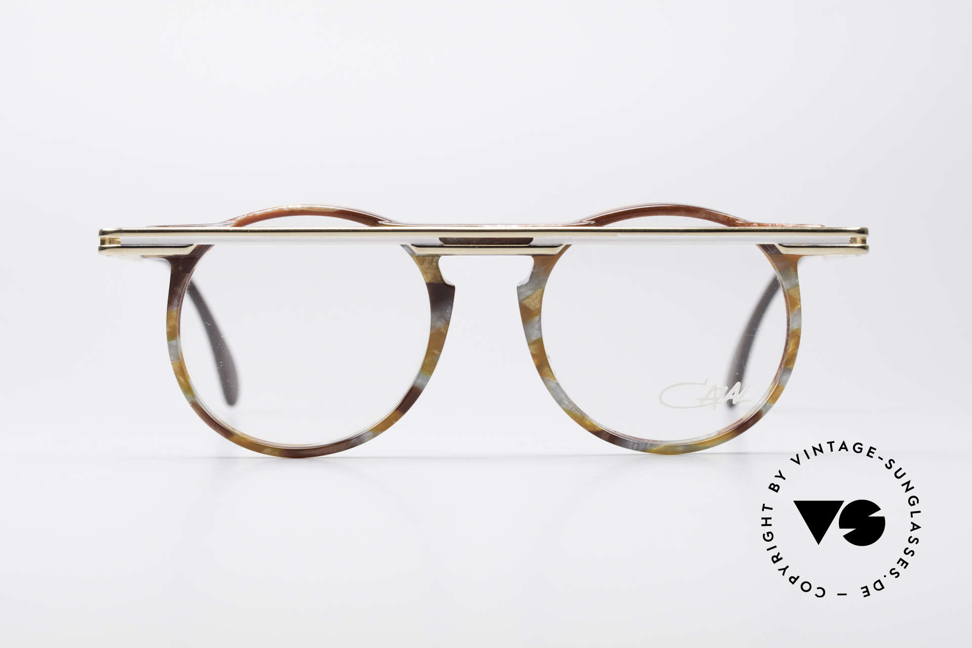 Cazal 648 90er Cari Zalloni Vintage Brille, vom Designer Cari Zalloni getragen (siehe Booklet), Passend für Herren und Damen