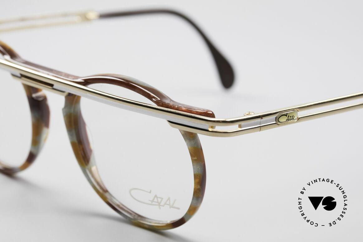 Cazal 648 90er Cari Zalloni Vintage Brille, ein echtes Meisterstück (kostbar und einzigartig), Passend für Herren und Damen