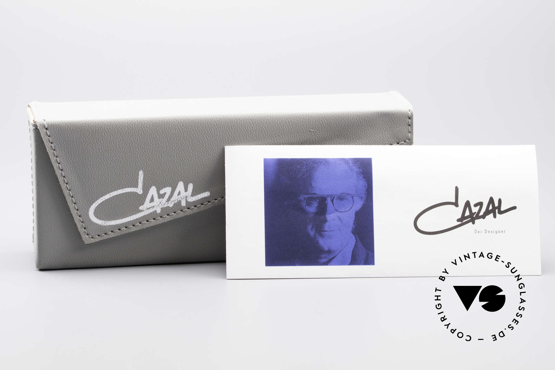 Cazal 648 90er Cari Zalloni Vintage Brille, KEINE Retromode; ein über 25 Jahre altes Unikat!, Passend für Herren und Damen