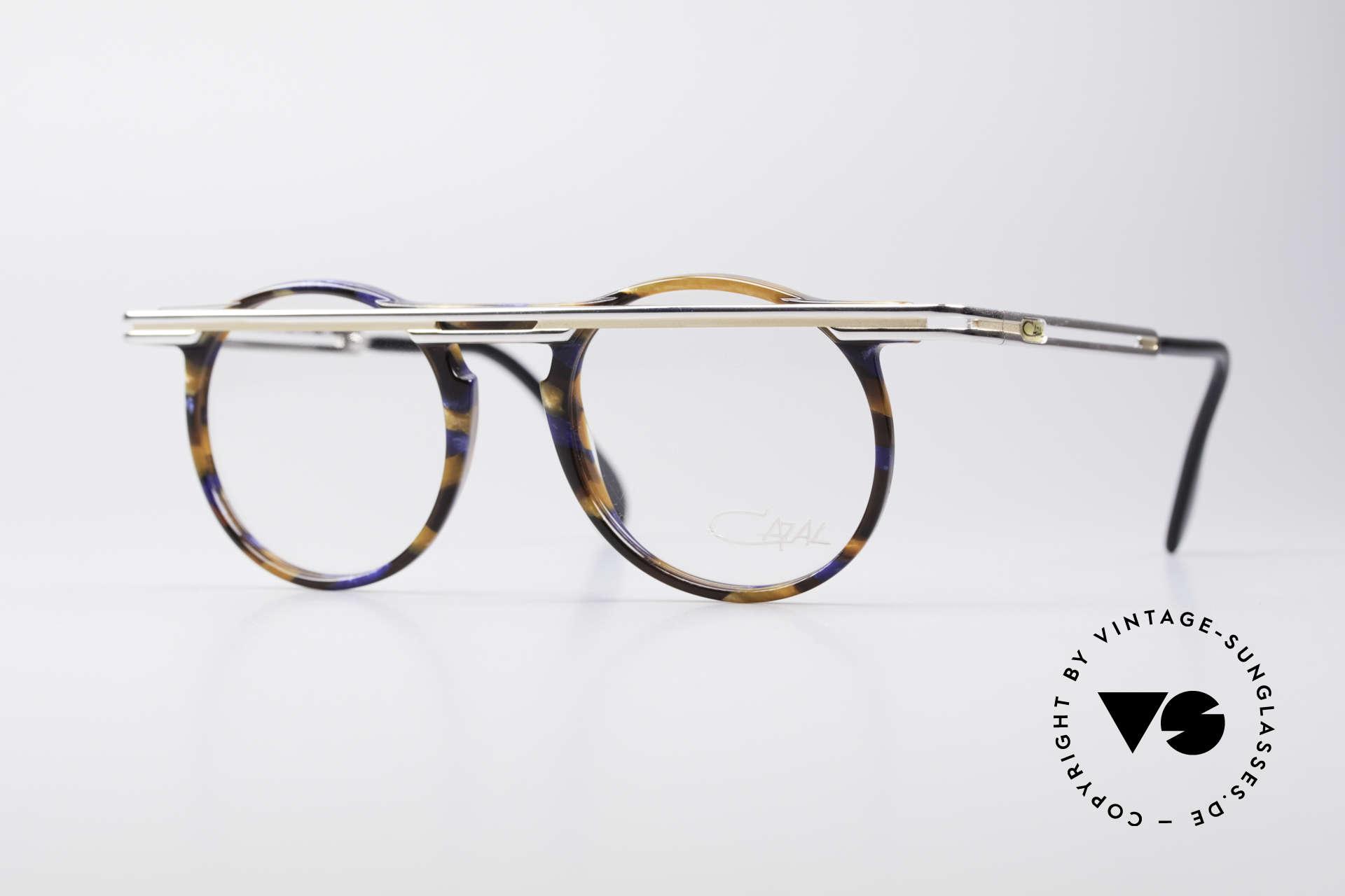 Cazal 648 Cari Zalloni 90er Vintage Brille, außergerwöhnliche Cazal vintage Brille von 1990, Passend für Herren und Damen