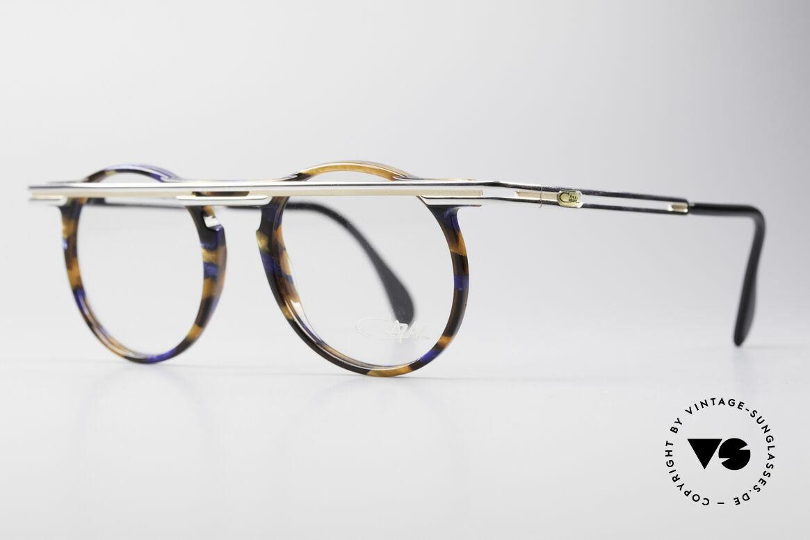 Cazal 648 Cari Zalloni 90er Vintage Brille, extrovertierte Rahmengestaltung in Farbe & Form, Passend für Herren und Damen