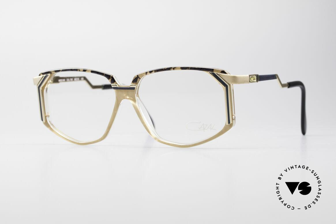 Cazal 346 Hip Hop Vintage Designer Brille, ausgefallenes Brillendesign von CAZAL (ca. von 1990), Passend für Herren und Damen