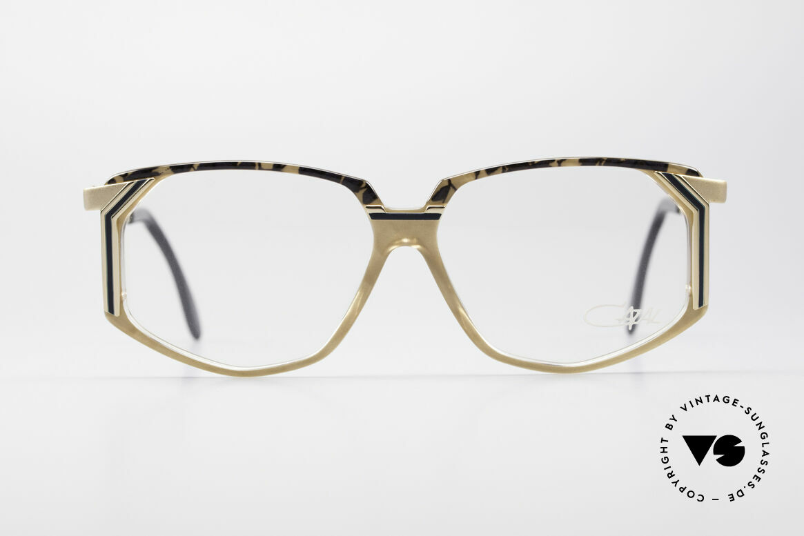 Cazal 346 Hip Hop Vintage Designer Brille, sehr markante Rahmenform = unverwechselbar CAZAL, Passend für Herren und Damen
