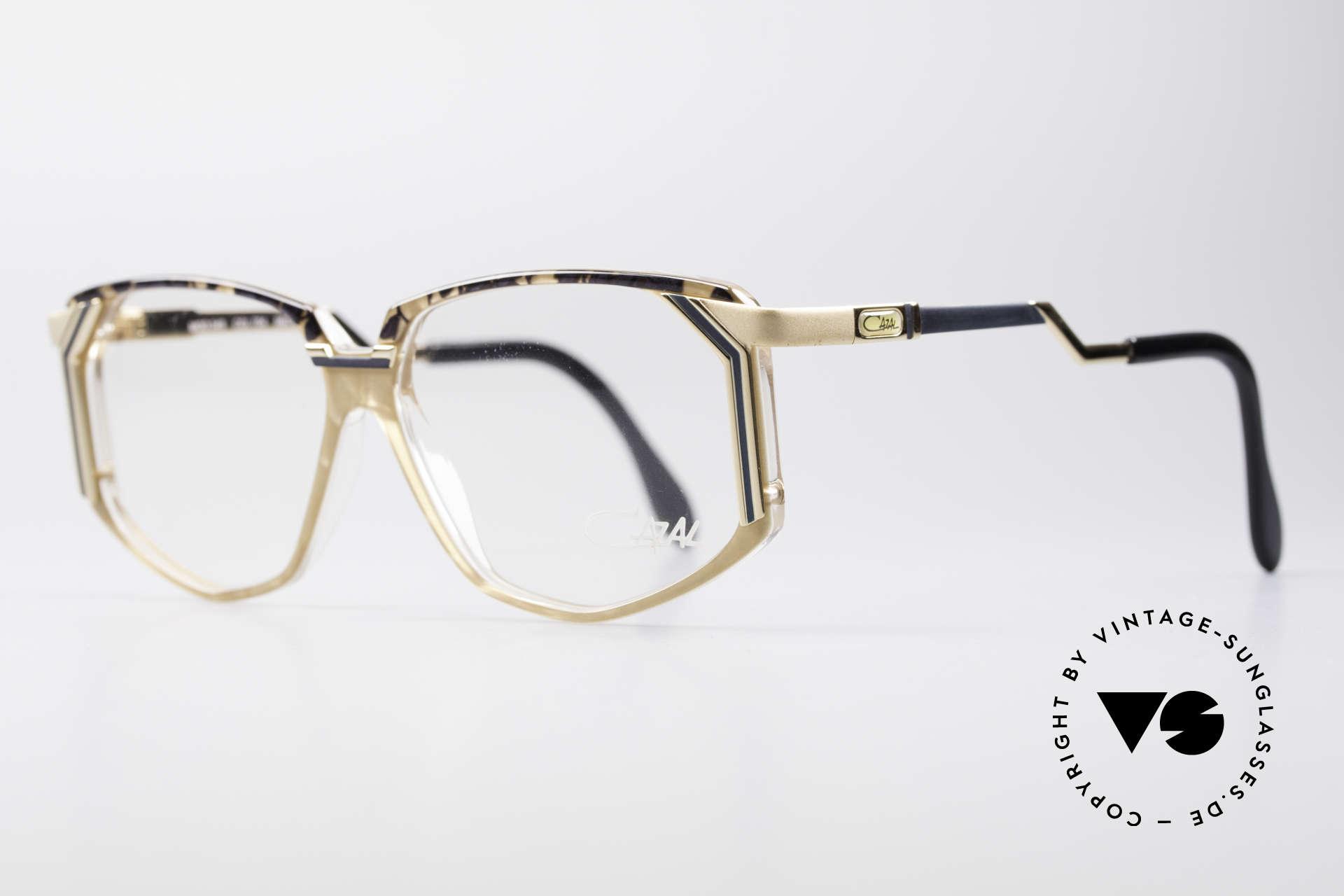 Cazal 346 Hip Hop Vintage Designer Brille, damals fester Bestandteil der amerik. Hip-Hop-Szene, Passend für Herren und Damen
