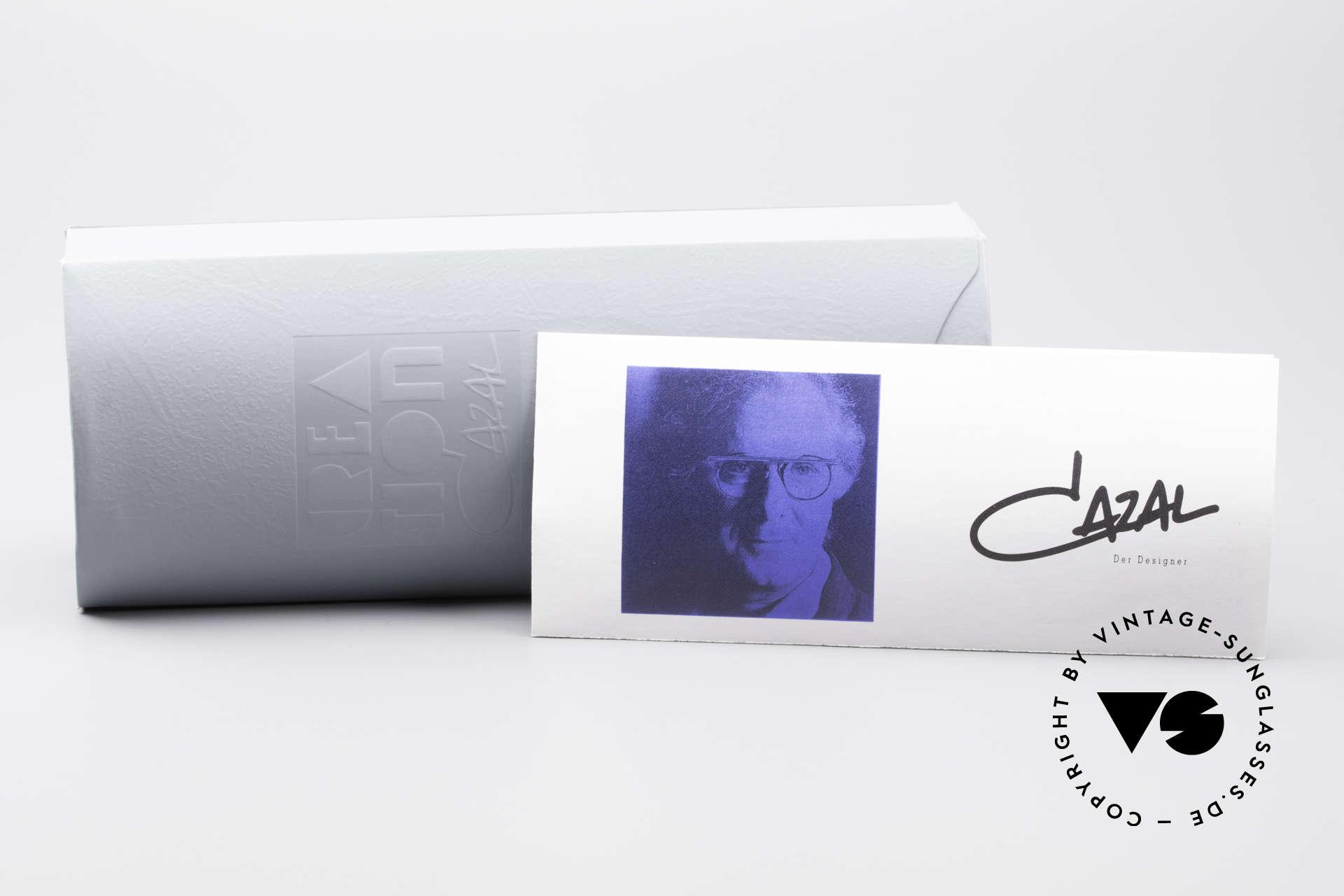 Cazal 346 Hip Hop Vintage Designer Brille, die Demogläser können durch optische ersetzt werden, Passend für Herren und Damen