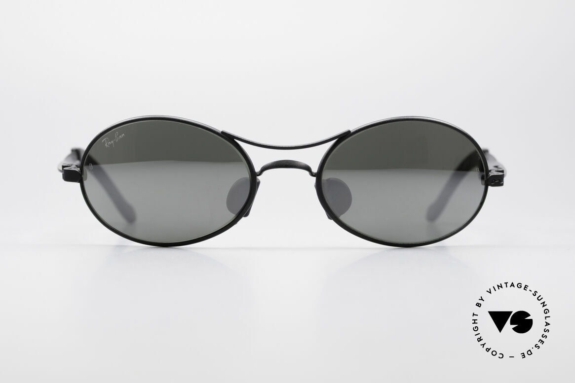 Ray Ban Orbs 9 Base Oval Silver Mirror B&L USA Brille