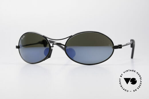 Ray Ban Orbs 9 Base Oval Blue Mirror B&L USA Brille Details