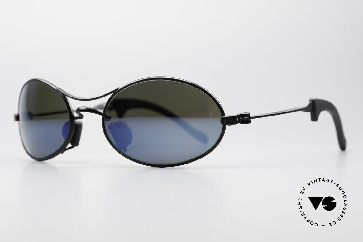 Ray Ban Orbs 9 Base Oval Blue Mirror B&L USA Brille, eines der letzten Ray Ban Modelle von Bausch&Lomb, Passend für Herren