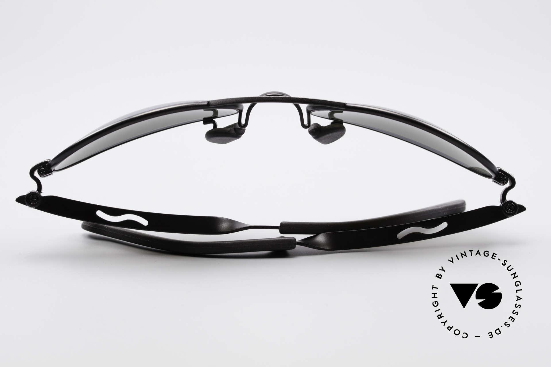 Ray Ban Orbs 9 Base Oval Blue Mirror B&L USA Brille, ungetragen (wie alle unsere RAY-BAN Sonnenbrillen), Passend für Herren