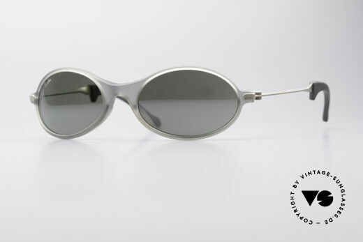 Ray Ban Orbs Oval Combo Silver Mirror B&L USA Brille Details
