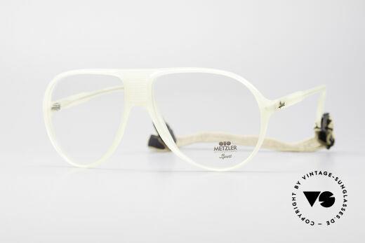 Metzler 0102 Echt Vintage 80er Sportbrille Details