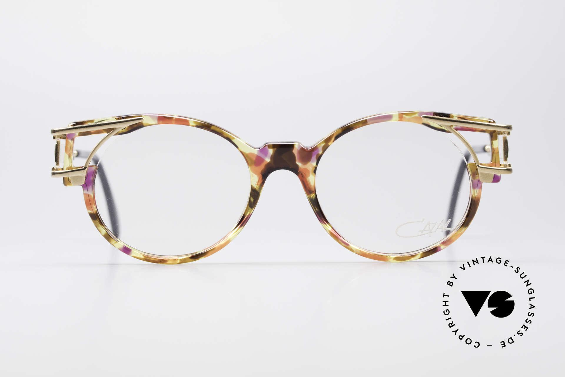 Cazal 353 90er Old School Vintage Brille, damals schon als Hip-Hop-Brille schlechthin bekannt, Passend für Herren und Damen