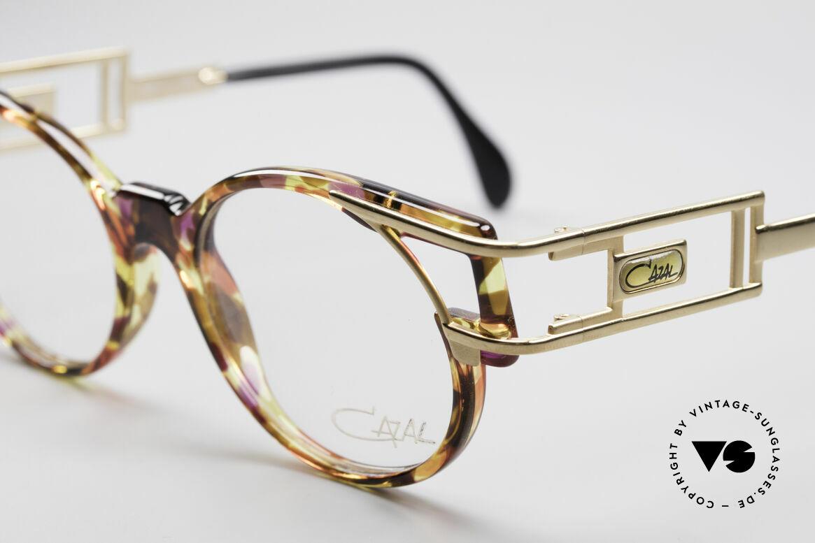 Cazal 353 90er Old School Vintage Brille, heutzutage gerne mal als 'Old-School-Brille' bezeichnet, Passend für Herren und Damen