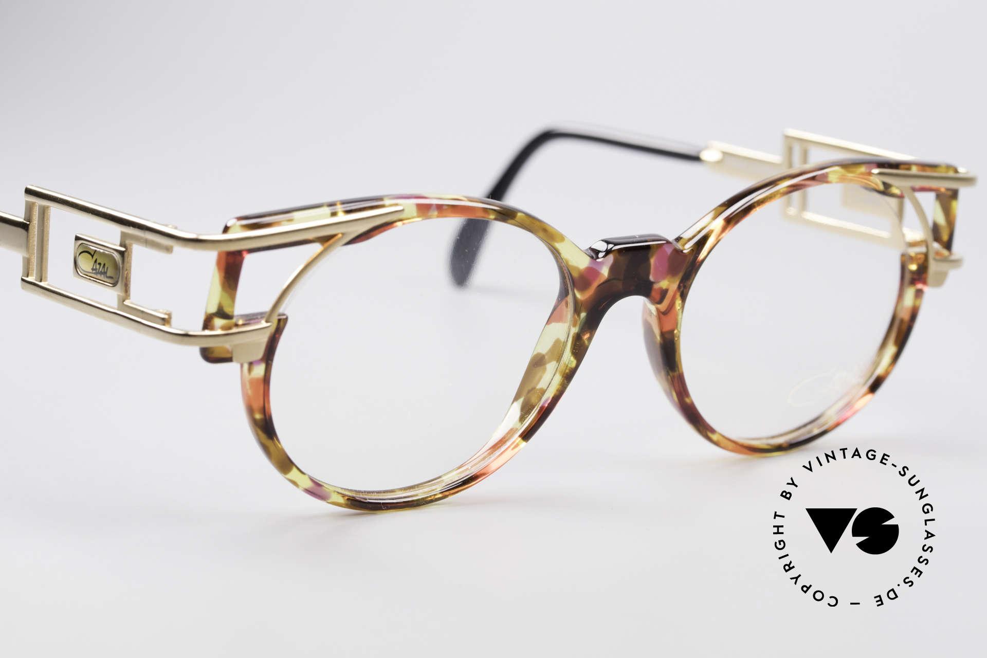 Cazal 353 90er Old School Vintage Brille, Qualität & Farbkonzept = unverwechselbar 90er Cazal, Passend für Herren und Damen