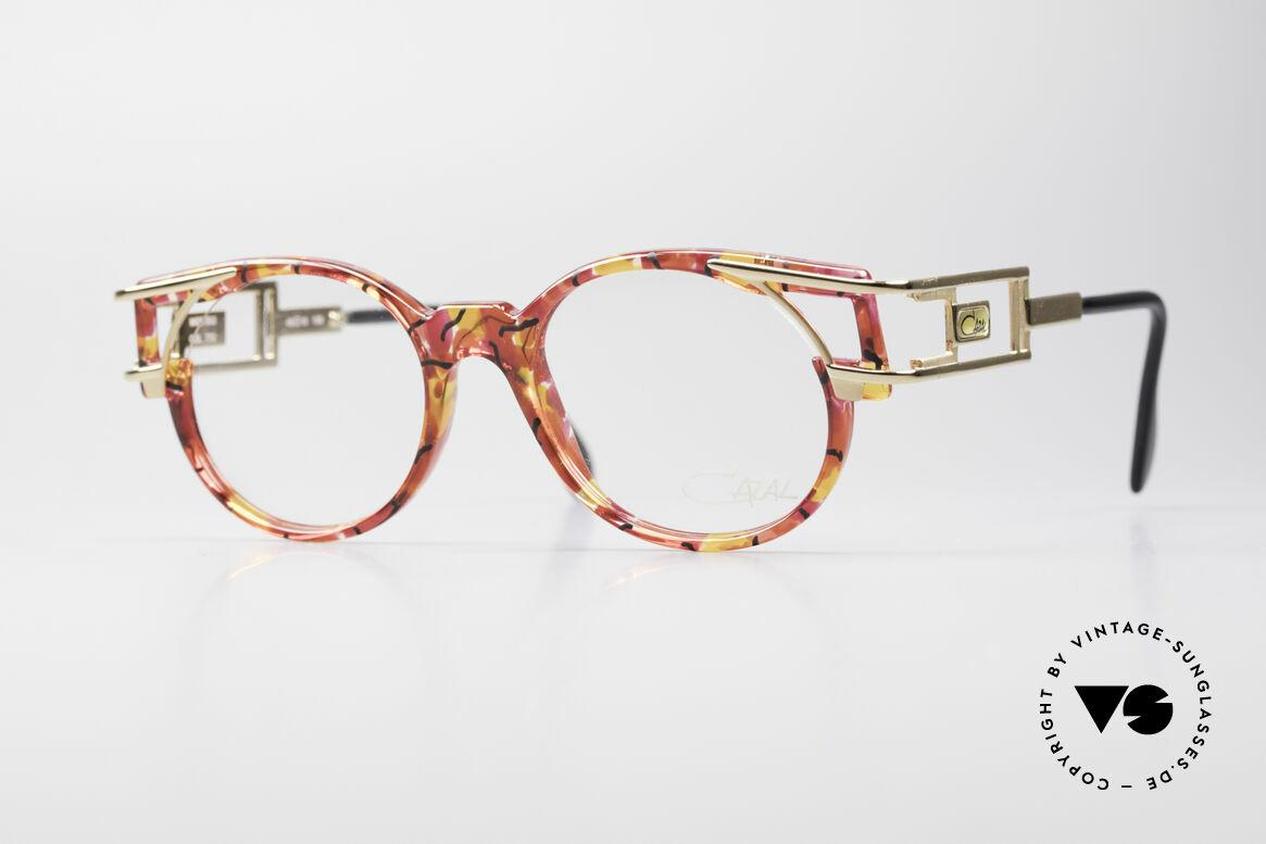 Cazal 353 Old School Hip Hop Fassung, alte vintage Cazal Designerbrille aus dem Jahre 1991, Passend für Herren und Damen