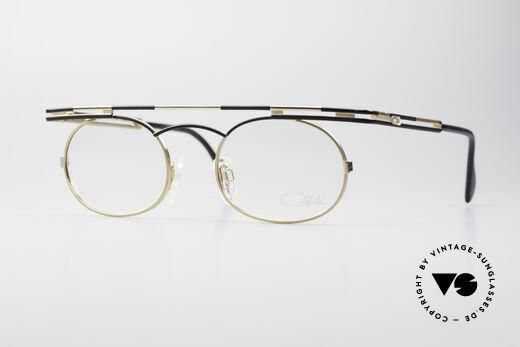 Cazal 761 Vintage Brille KEINE Retrobrille Details