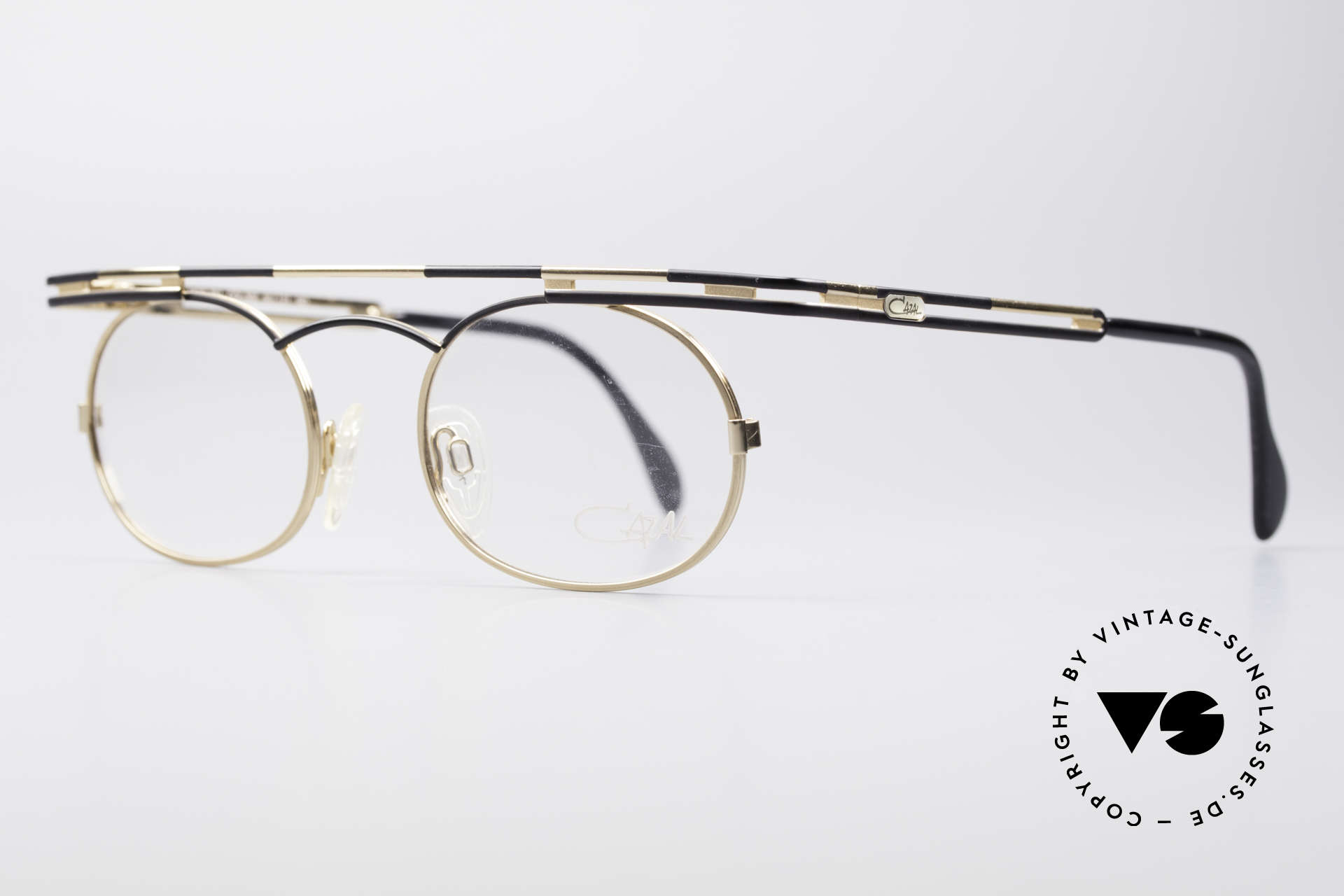 Cazal 761 Vintage Brille KEINE Retrobrille, beste Verarbeitungsqualität 'made in Germany', Passend für Herren und Damen
