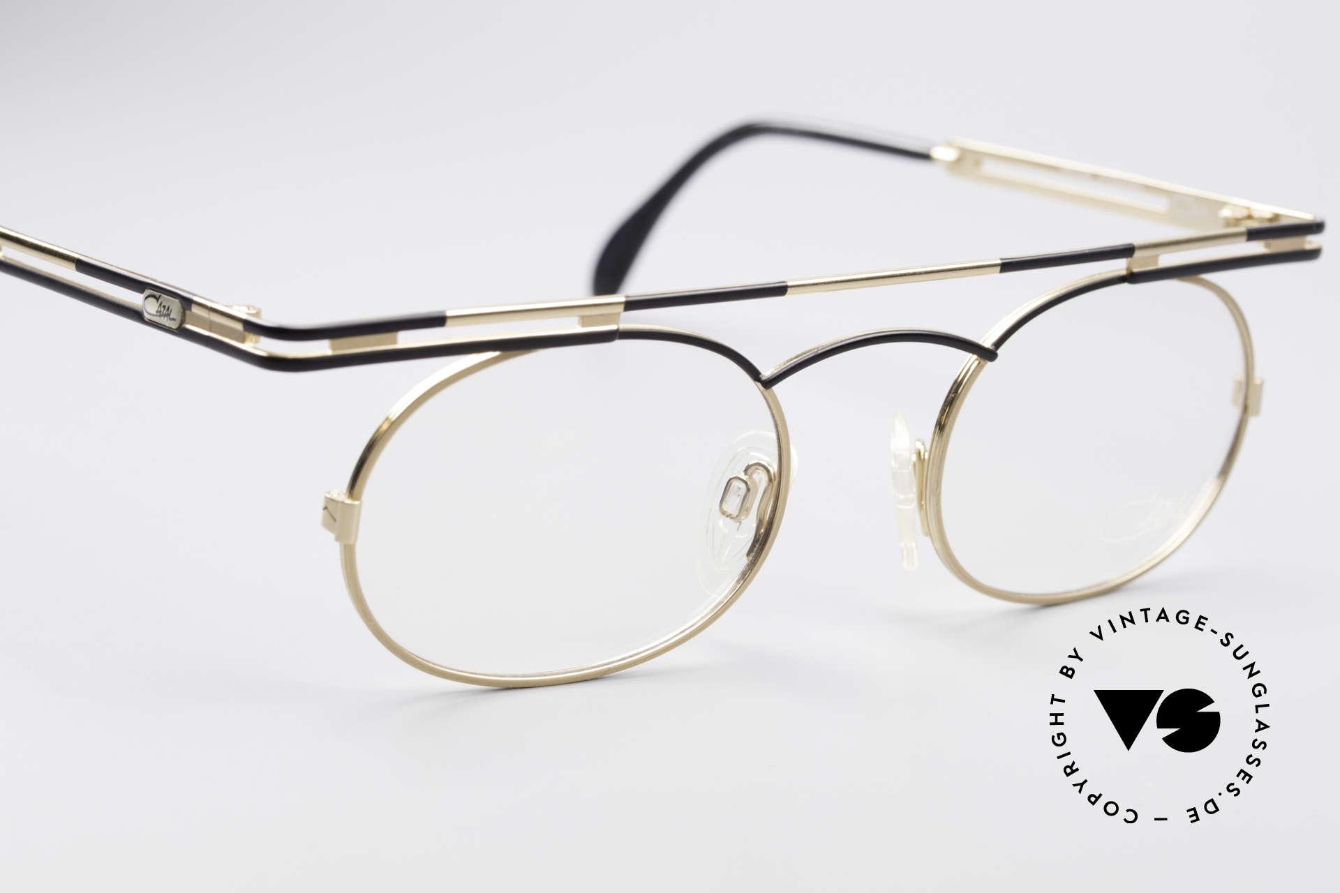 Cazal 761 Vintage Brille KEINE Retrobrille, KEINE RETRObrille; eine echte VINTAGE Brille, Passend für Herren und Damen