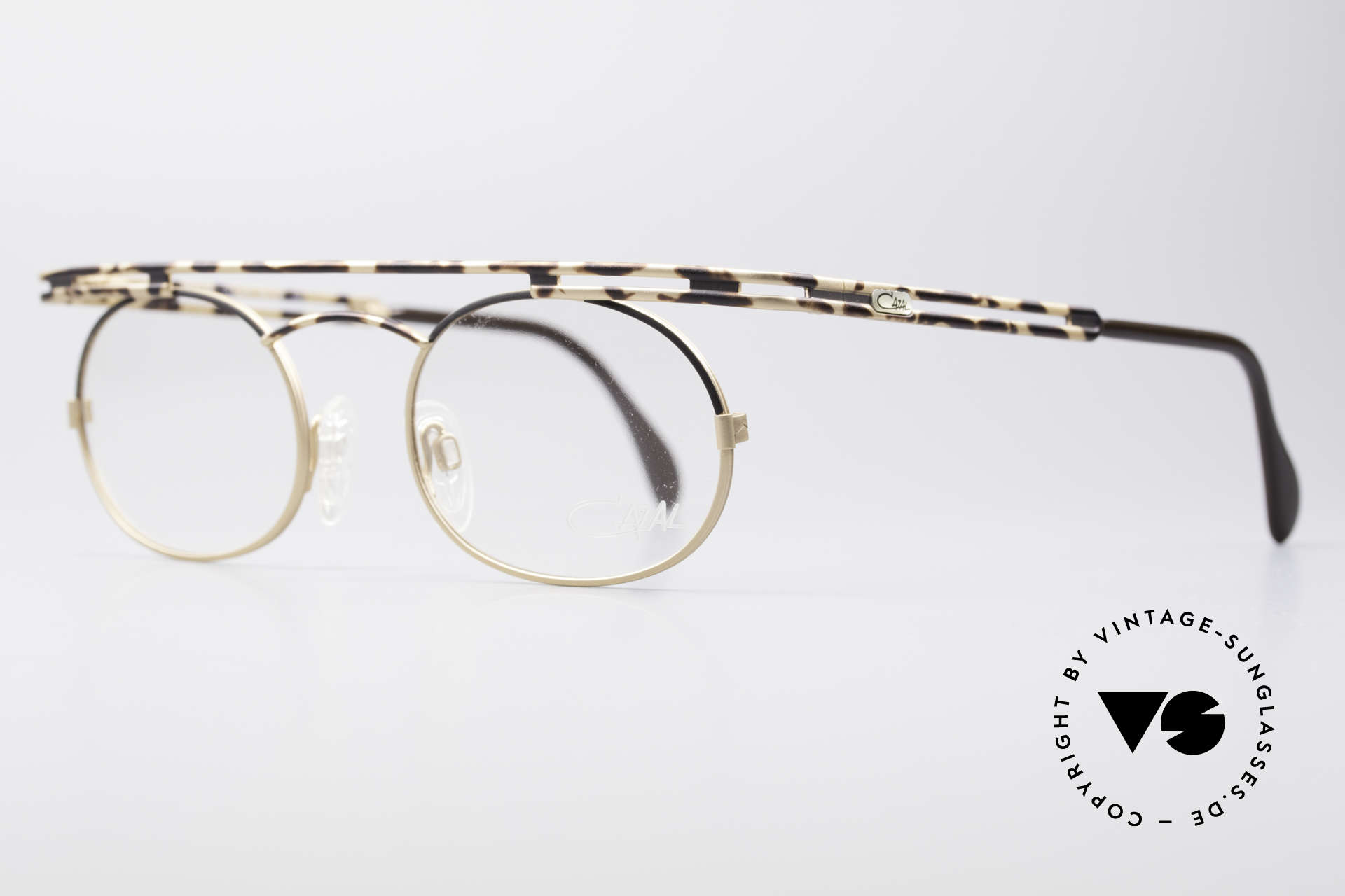 Cazal 761 KEINE Retrobrille Vintage Brille, beste Verarbeitungsqualität 'made in Germany', Passend für Herren und Damen