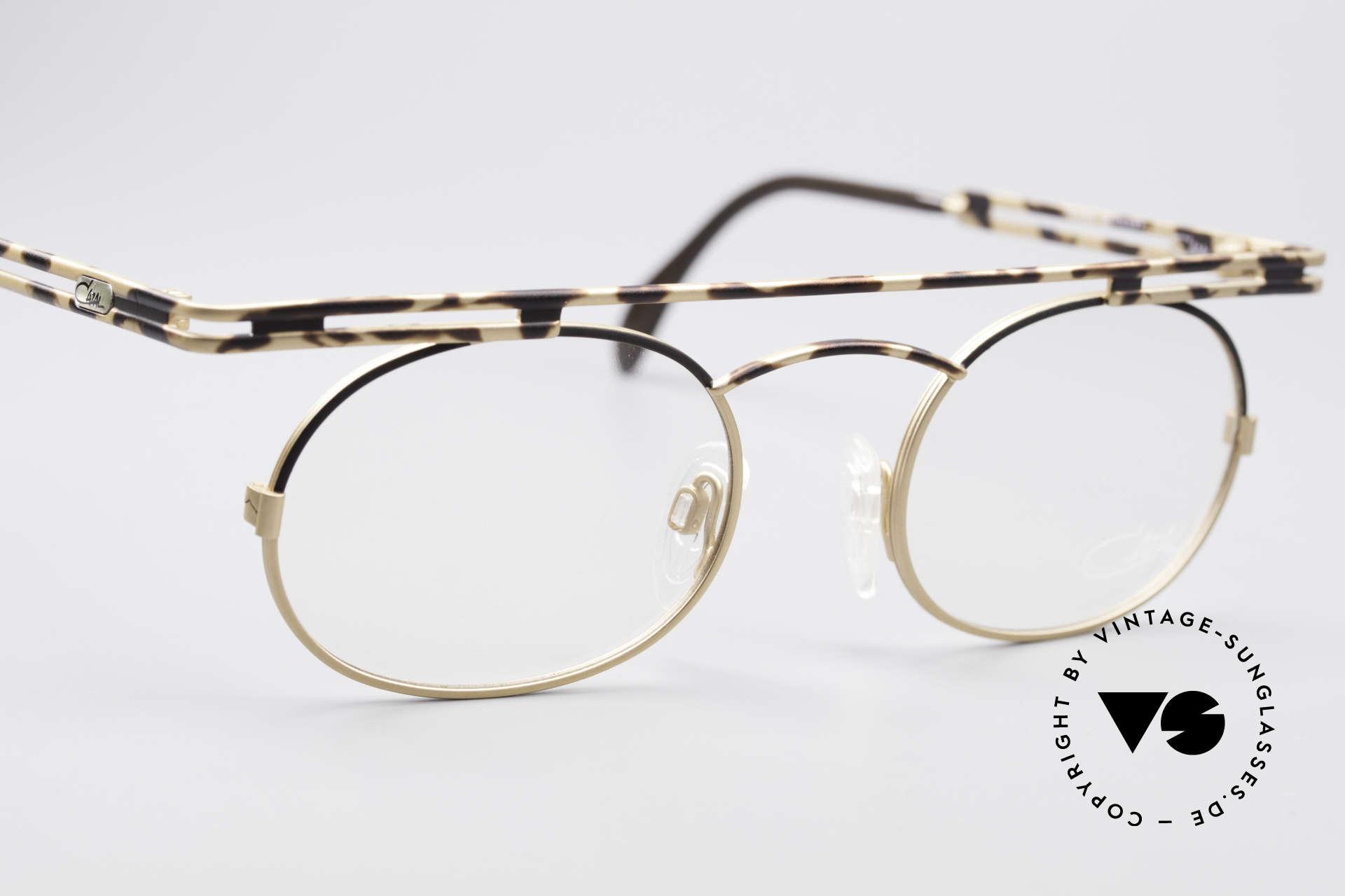 Cazal 761 KEINE Retrobrille Vintage Brille, KEINE RETRObrille; eine echte VINTAGE Brille, Passend für Herren und Damen