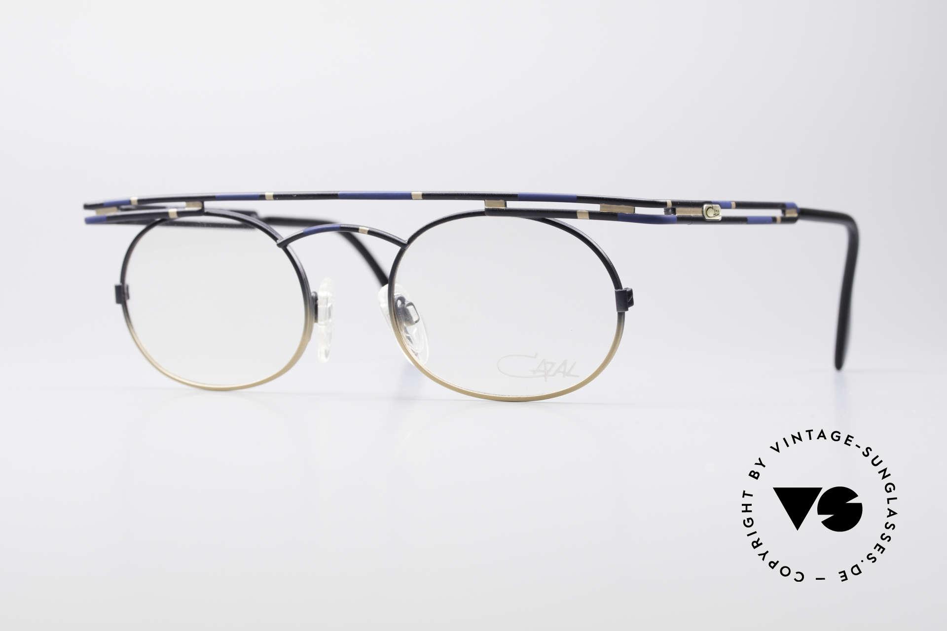 Cazal 761 Echte Vintage Brille KEIN Retro, ausdrucksstarke CAZAL vintage Brille von 1997, Passend für Herren und Damen