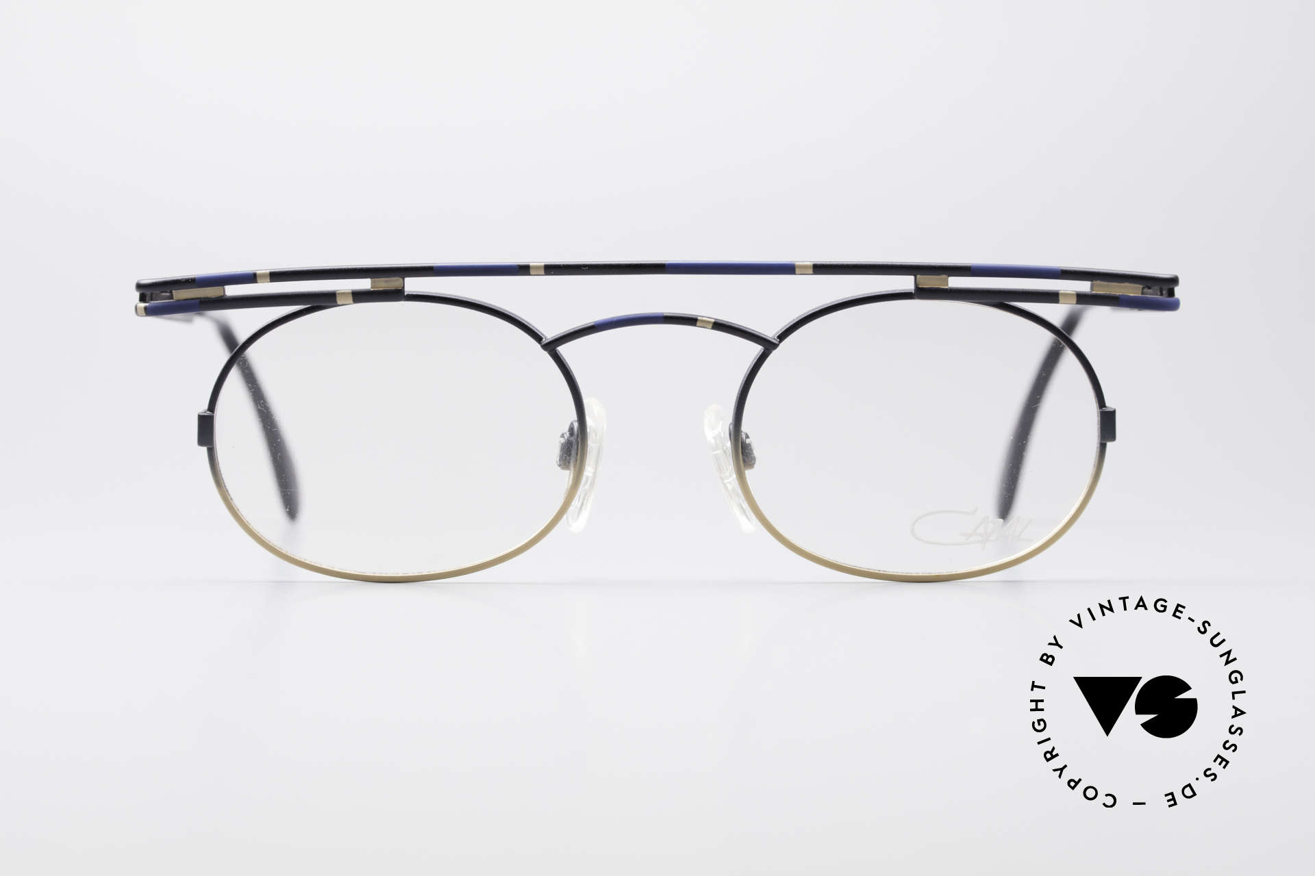 Cazal 761 Echte Vintage Brille KEIN Retro, rund und kantig zugleich; ein echter Hingucker, Passend für Herren und Damen