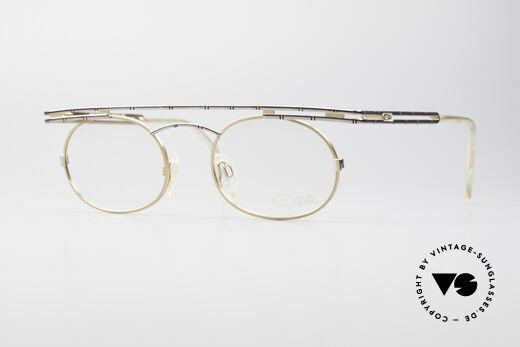 Cazal 761 KEINE Retrobrille Echt Vintage Details