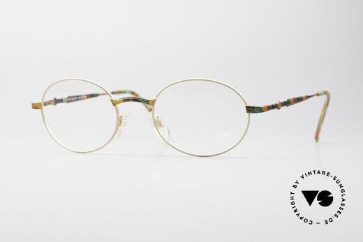 Cazal 1114 - Point 2 Runde Vintage Brillenfassung Details