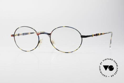 Cazal 1114 - Point 2 Runde Ovale Vintage Brille Details