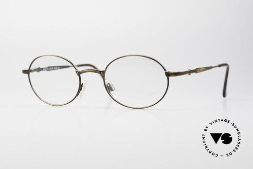 Cazal 1114 - Point 2 Ovale Vintage Brillenfassung Details