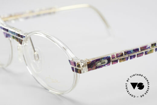 Cazal 510 Crystal Limited Ovale Brille