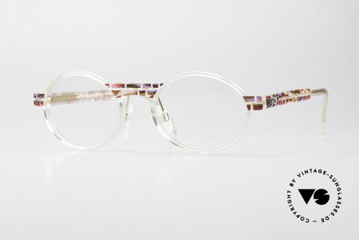 Cazal 510 Crystal Limited Vintage Brille Details