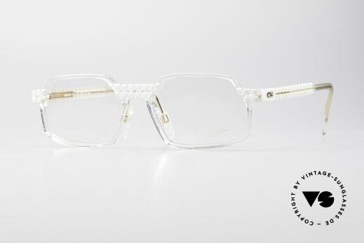 Cazal 511 Crystal Limited Vintage Brille Details