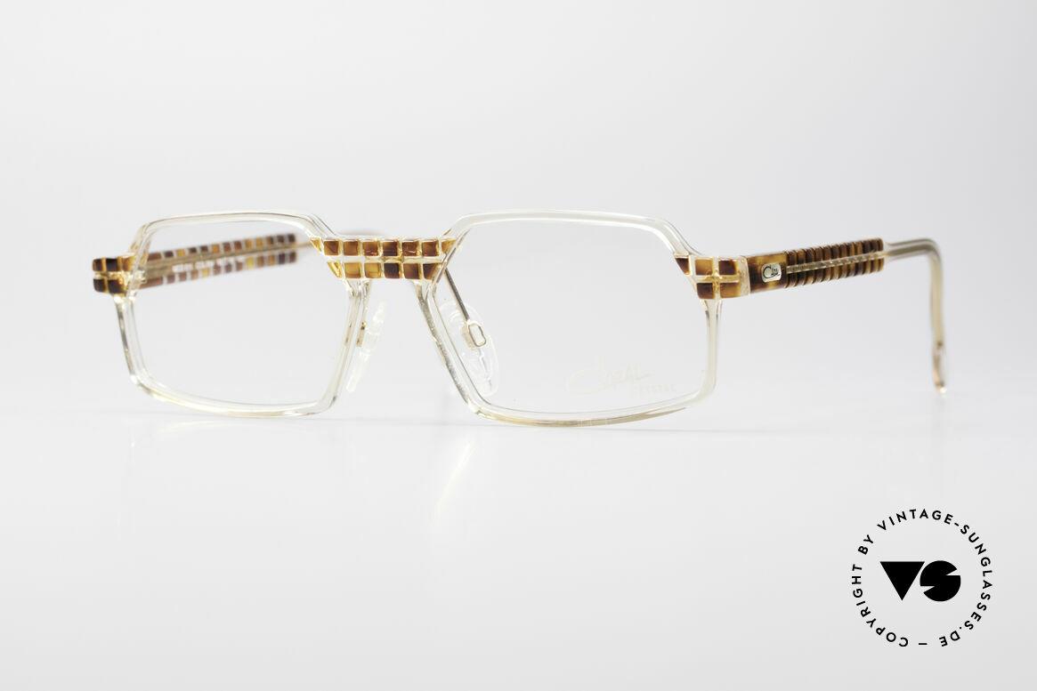 Cazal 511 Crystal Limited Edition Cazal, seltene vintage Brille der Cazal Crystal 500er Serie, Passend für Herren und Damen