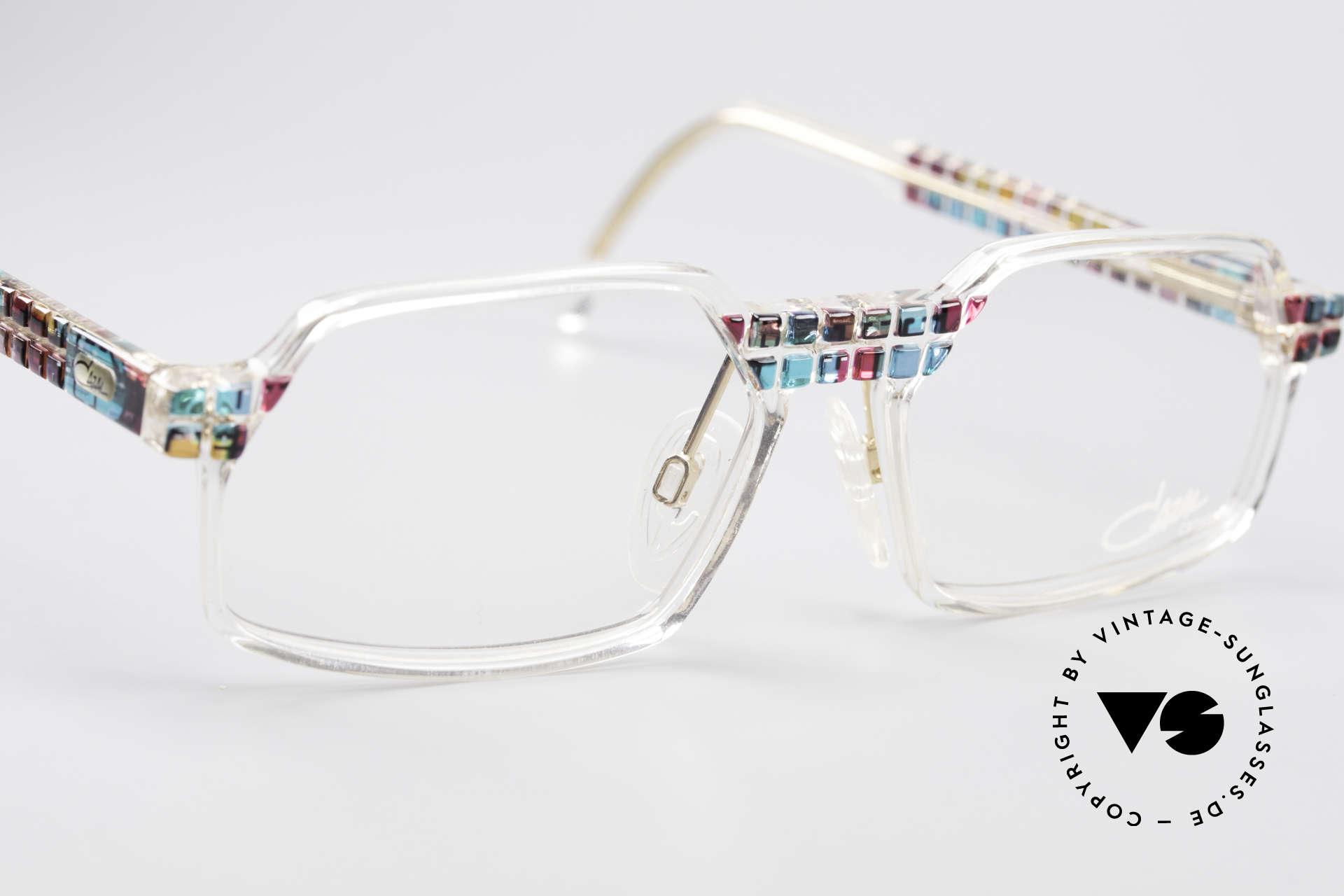 Cazal 511 Crystal Limited Vintage Cazal, ungetragen (wie alle unsere vintage CAZAL Brillen), Passend für Herren und Damen