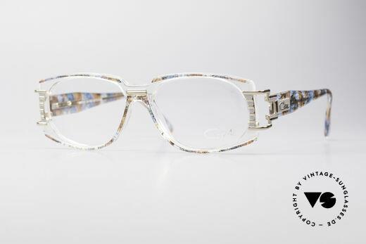 Cazal 372 Seltene HipHop Vintage Brille Details