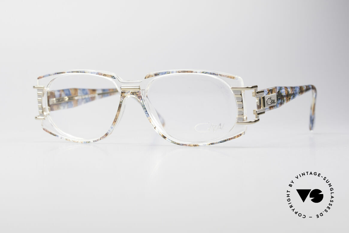 Cazal 372 Seltene HipHop Vintage Brille, ultra seltenes CAZAL vintage Modell aus den 90er Jahren, Passend für Herren und Damen
