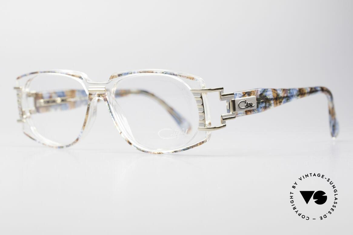 Cazal 372 Seltene HipHop Vintage Brille, interessant, ausdrucksstark und ein 'Hingucker' zugleich, Passend für Herren und Damen