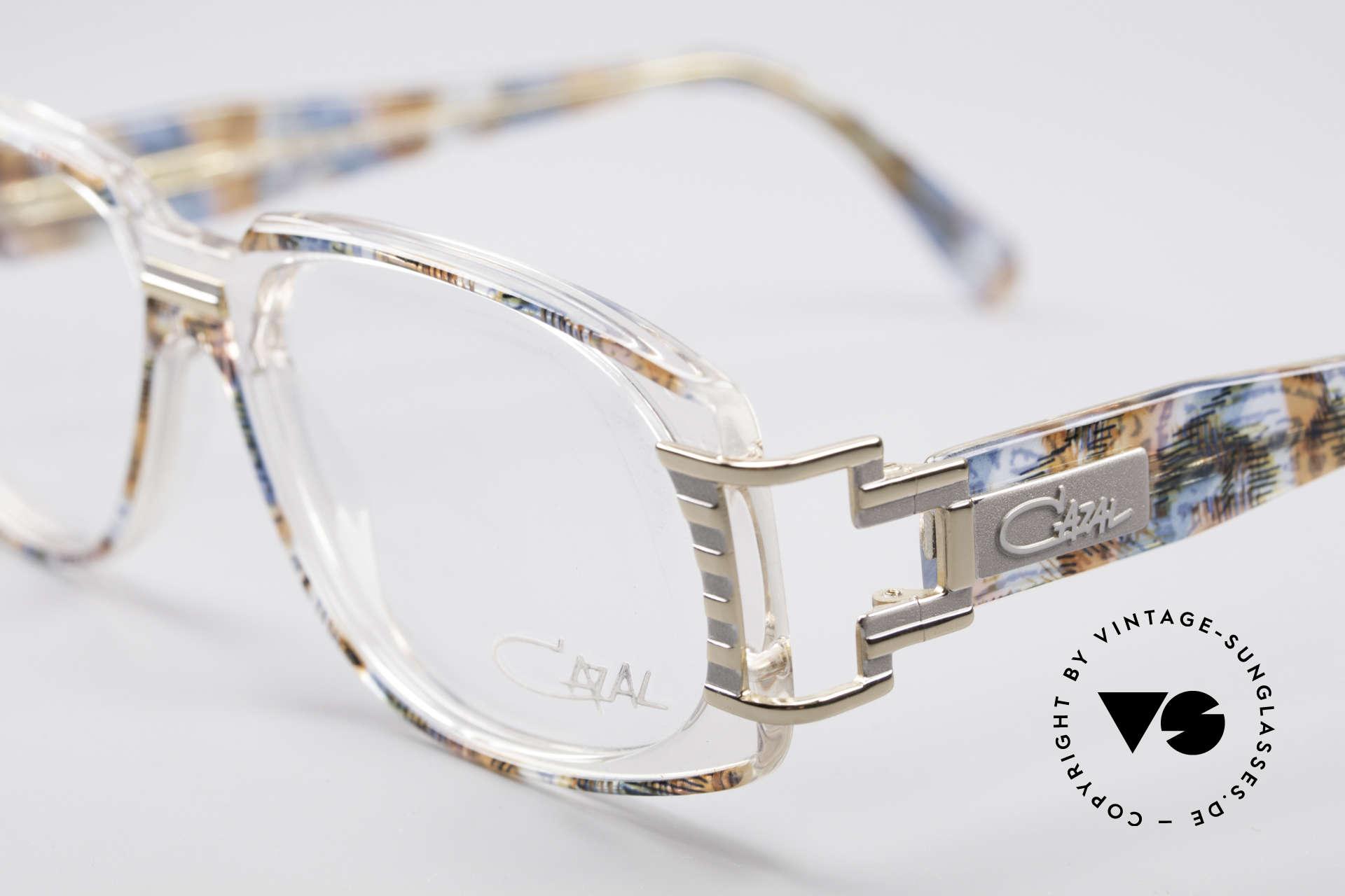 Cazal 372 Seltene HipHop Vintage Brille, wahre Designer-Brille vom großen CAri ZALloni (CAZAL), Passend für Herren und Damen