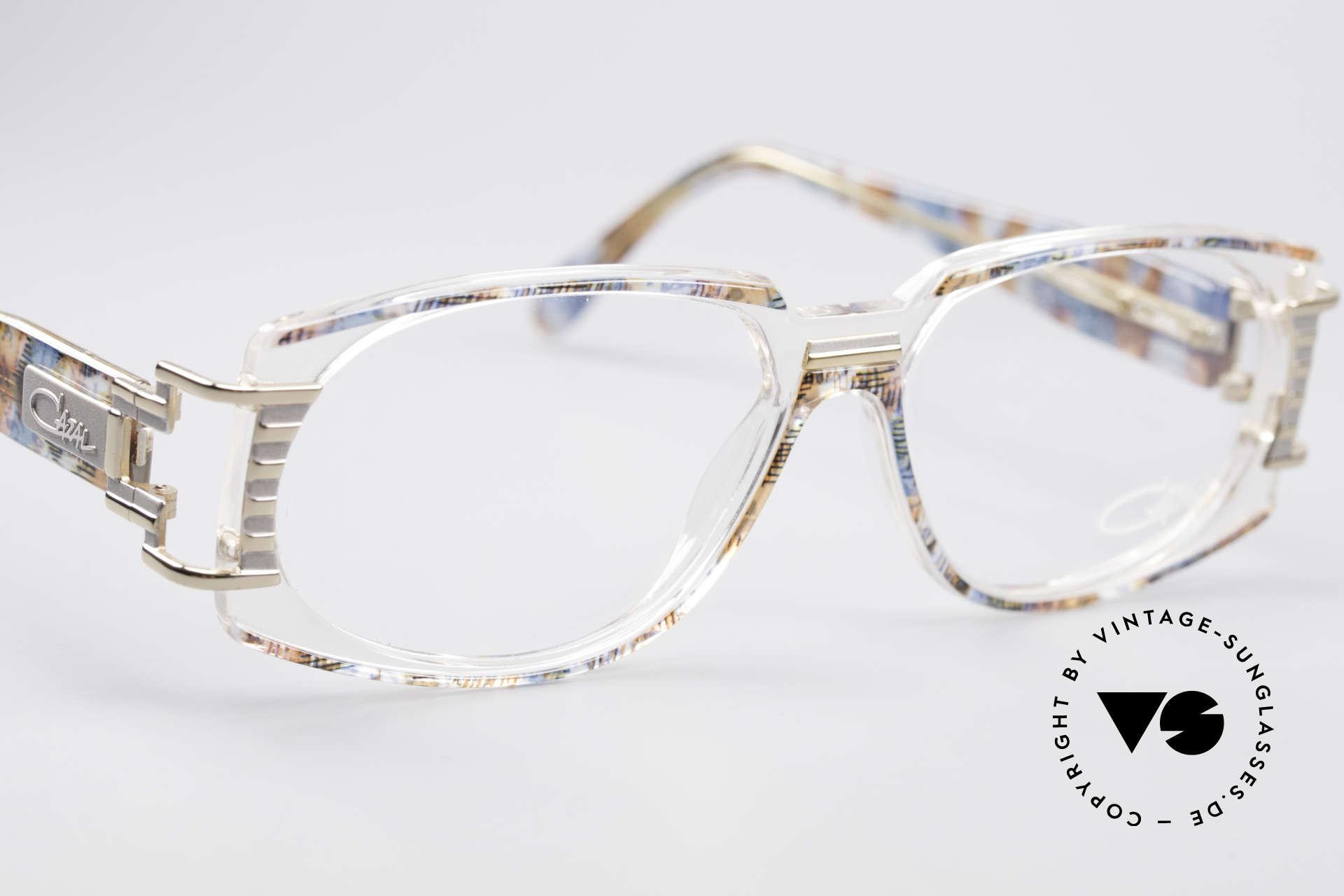 Cazal 372 Seltene HipHop Vintage Brille, ungetragen (wie alle unsere alten CAZAL vintage Brillen), Passend für Herren und Damen