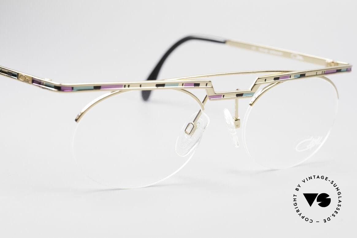 Cazal 758 Original Brille No Retrobrille, fühlbare Top-Qualität und Komfort (made in Germany), Passend für Herren und Damen
