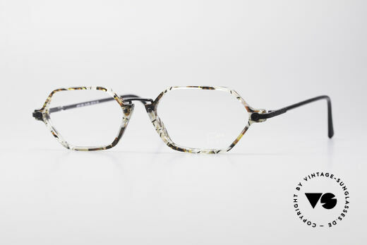 Cazal 1302 - Point 2 Original 90er Designer-Brille Details