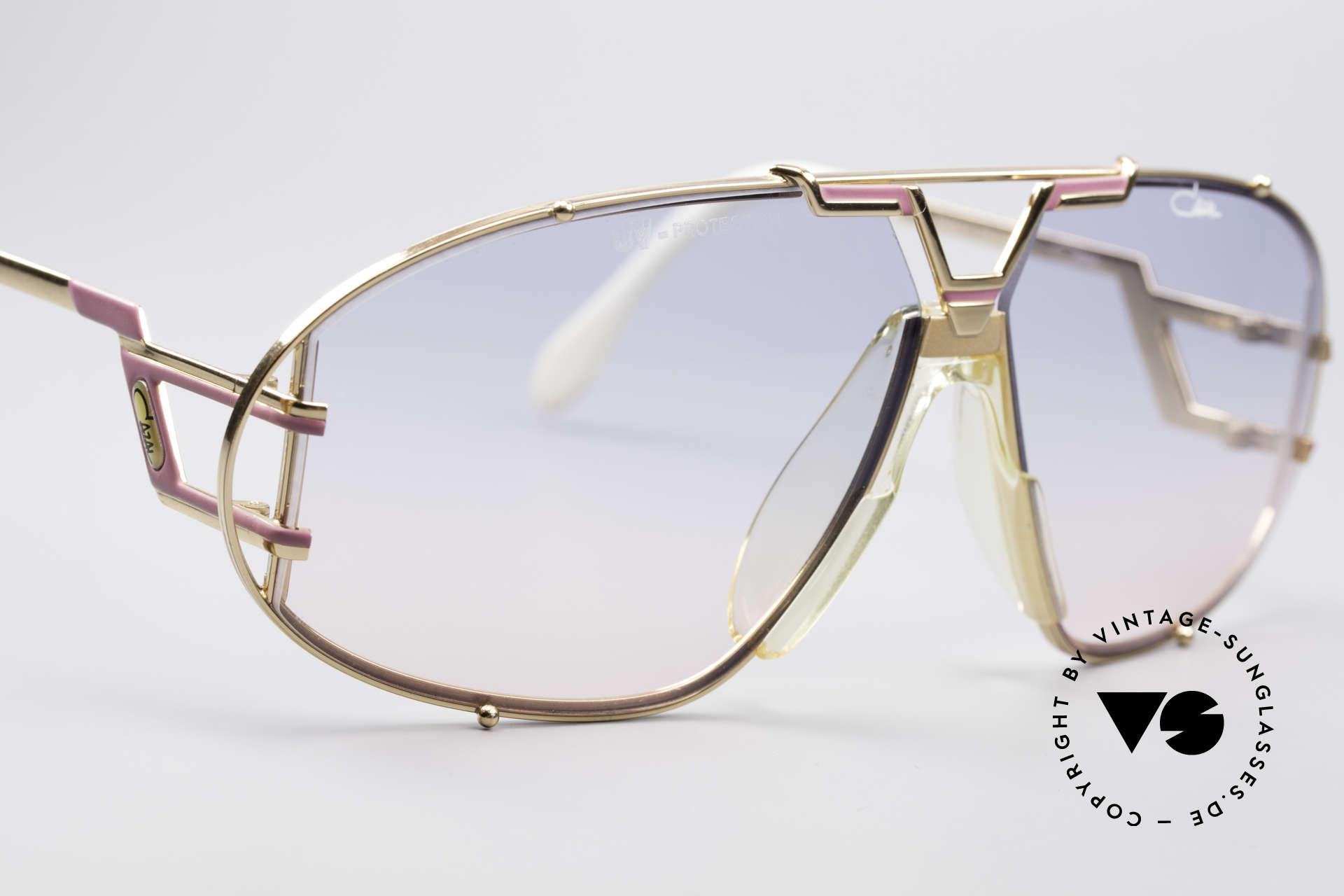 Cazal 907 Jay-Z Beyoncé Sonnenbrille, KEINE Retro Sonnenbrille; eine Rarität von 1989/90, Passend für Herren und Damen