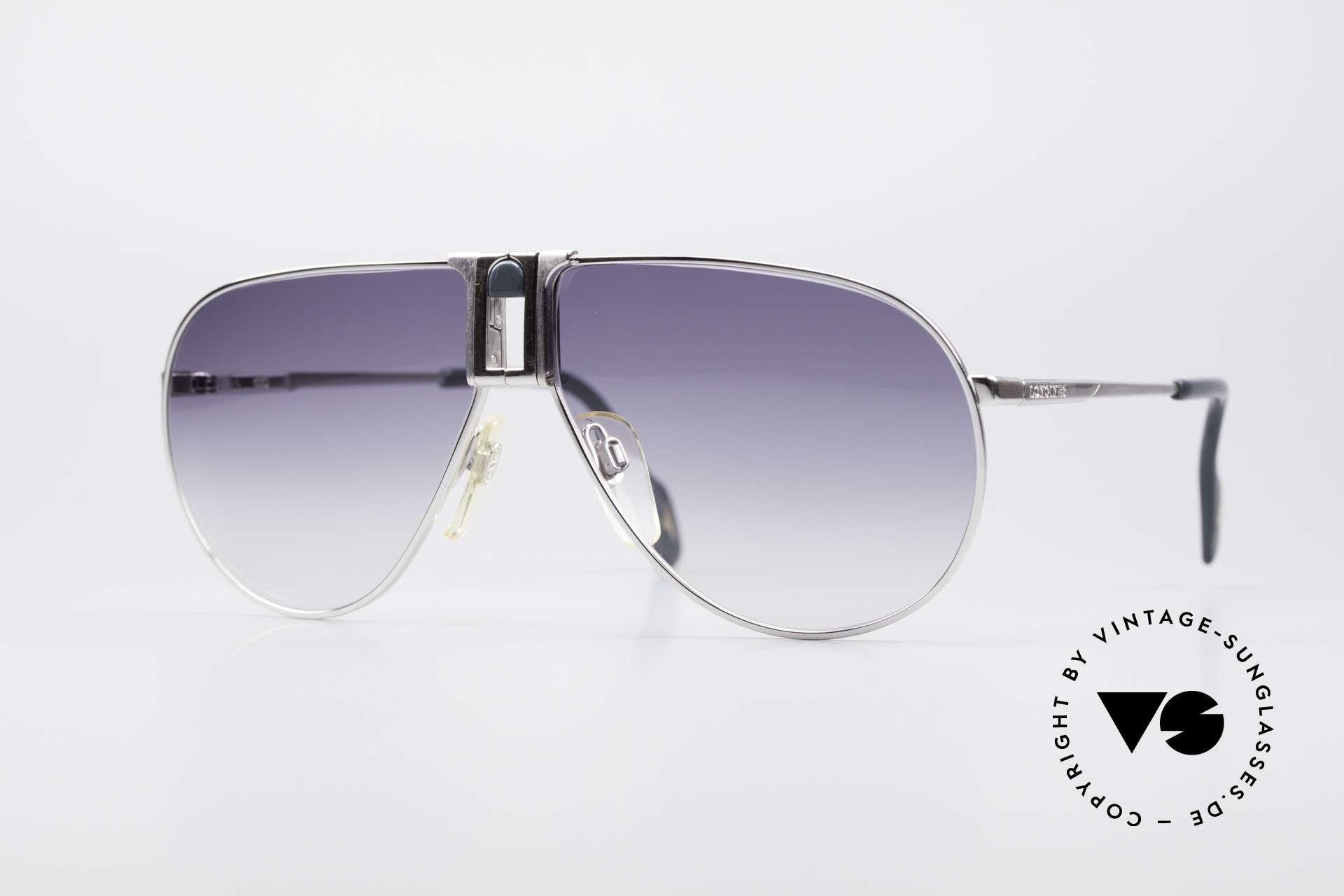 """Longines 0154 Large 80er Aviator Sonnenbrille, hochwertige vintage Longines """"Aviator""""-Sonnenbrille, Passend für Herren"""