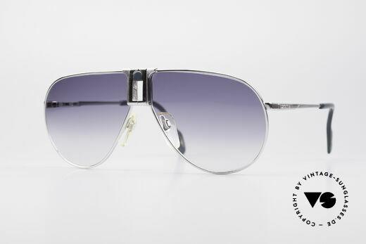 Longines 0154 Large 80er Aviator Sonnenbrille Details