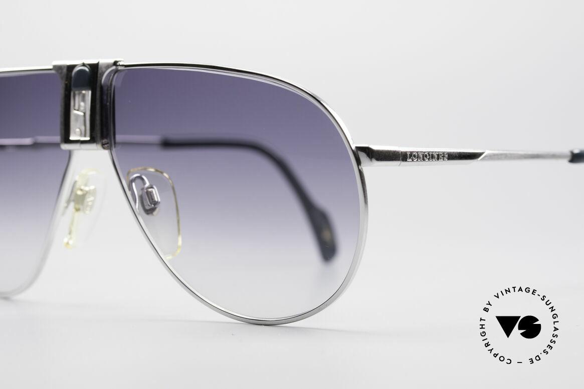 Longines 0154 Large 80er Aviator Sonnenbrille, ungetragen (wie alle unsere vintage Sonnenbrillen), Passend für Herren