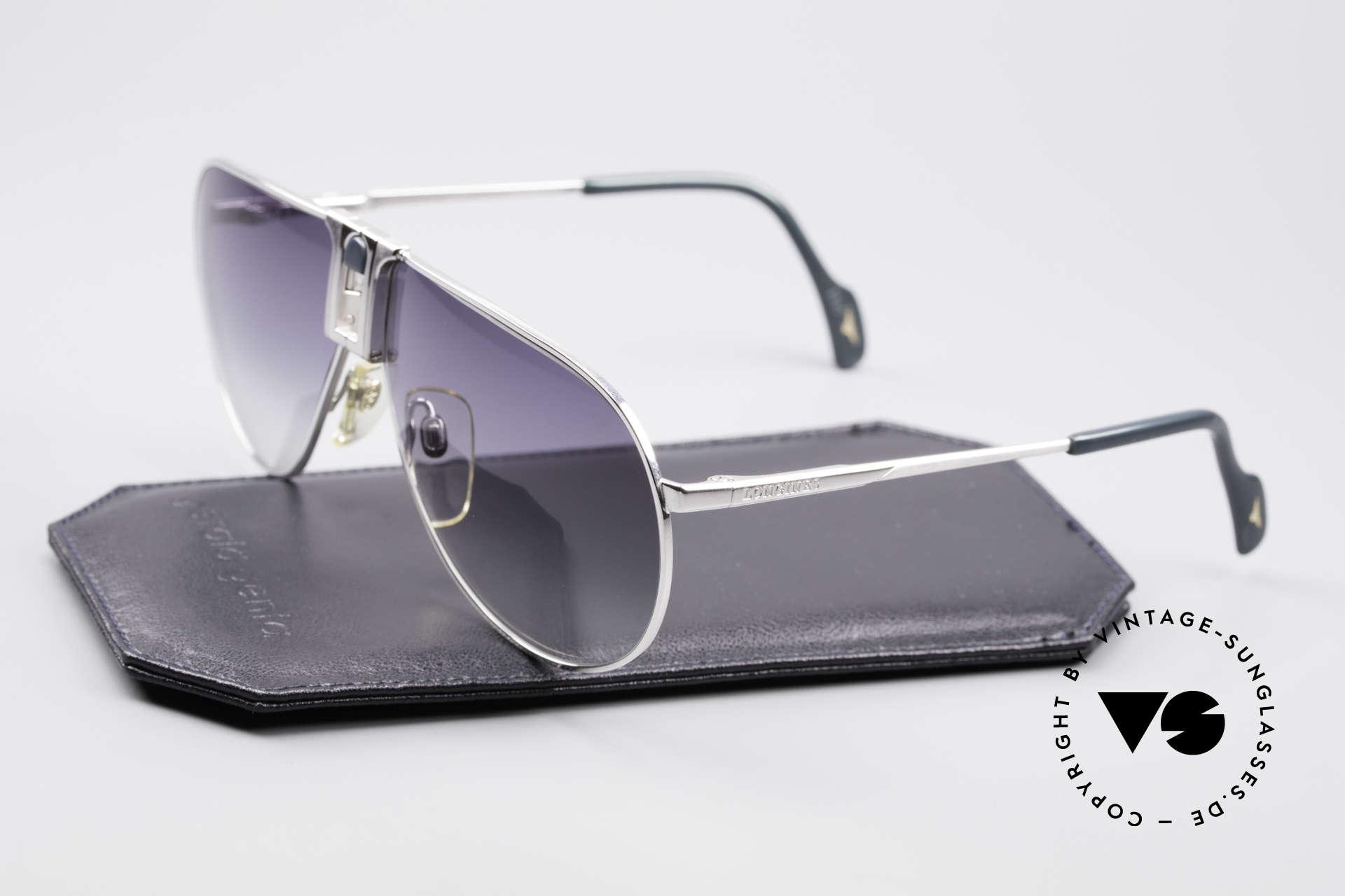 Longines 0154 Large 80er Aviator Sonnenbrille, KEINE RETROMODE, sondern ein 1980er ORIGINAL, Passend für Herren