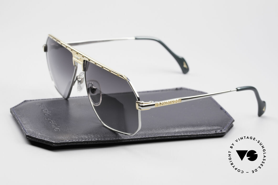 Longines 0152 Titanium 80er Sonnenbrille, ungetragen (wie alle unsere vintage Longines Brillen), Passend für Herren